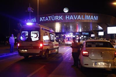 El ataque se realizó en el aeropuerto AtantürK, el más grande de Estambul.