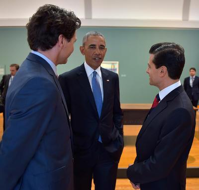 Trudeau alabó el acuerdo alcanzado entre Canadá, México y Estados Unidos durante la cumbre.