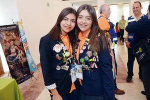 26062016 ROTARIAS.  Sandra y Renata.