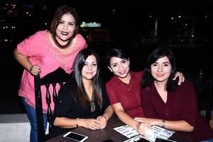 29062016 Liliana López, Patricia Muruato, Sayra Olivar y Carolina Olmos.