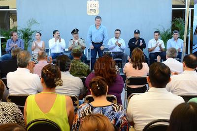 El evento fue presidido por el alcalde Miguel Riquelme.