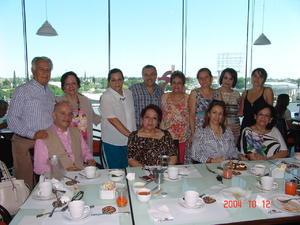 05072016 Jorge, Lety, Yoyis, María, Héctor, Vicky, Lupita, Gerardo, Maye, Lily, Rocío y Erika.