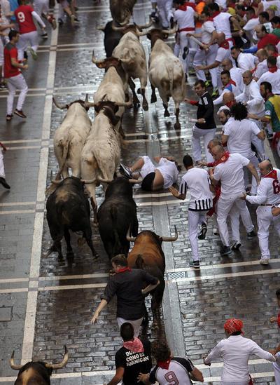 El año pasado diez personas resultaron corneadas por toros, entre ellas cuatro estadounidenses.