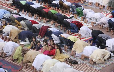 Se trata de tres días de fiesta en los cuales conmemoran el final del mes sagrado del Ramadán.