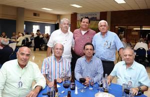 06072016 Juan de la Cruz, Fernando López, José López, Armando González, Luis Ceballos, Rodolfo Coppel y Alfredo Jaidar.