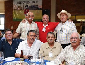 06072016 Juvemar, Aurelino, Mario, Fernando, Adrián, Hugo y Francisco.
