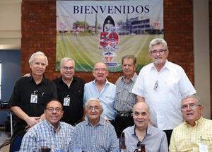 06072016 Luis Carlos, David Sada, Javier Willy, Rigoberto Becerra, Fernando González, Ignacio Uribe, Rubén Samano, Roberto Acosta y Jesús Hernández.