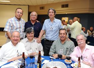 06072016 Jesús Castilla, César Terrazas, Rafa Sáenz, Jesús Licón, Carlos Martínez, Fernando Martínez y Gil Monarrez.