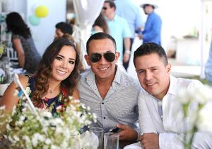06072016 Daniela, Gerardo e Iván.