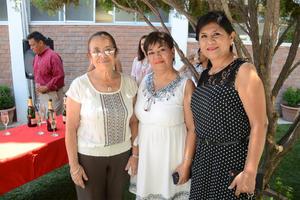 07072016 Teresa Frayre, Claudia Saldívar y Gloria Hernández.