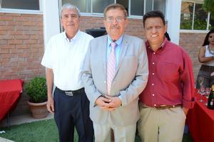 07072016 Guillermo Ríos, Carlos Noyola y Luis Cueto.