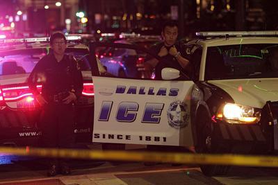 El tiroteo sucedió en una zona de hoteles, restaurantes, comercios y algunos departamentos residenciales.