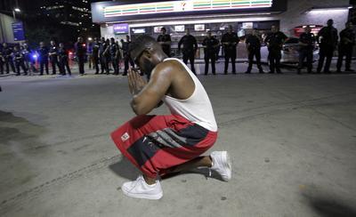Los hechos violentos se saldaron con cinco oficiales muertos y un sospechoso abatido.