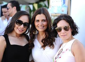 Carol, Mónica y Lorena