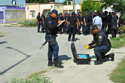 Participaron elementos activos de la Dirección de Seguridad Pública Municipal y cadetes de la Academia.