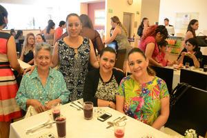 08072016 Conchita, Mirna, Zulema y Paty.