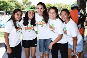 12072016 Leslie López, Marifer Valdés, Jimena Hernández, Alexandra Valdepeñas y Ana Cecy González.