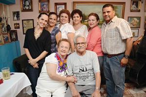 13072016 UN DíA MUY ESPECIAL.  Juan Rosales festejó su cumpleaños junto a su familia.