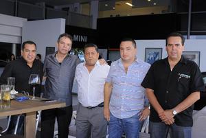 13072016 Memo, Pablo, José, Daniel y Ernesto.