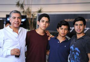 13072016 Vidal, Óscar, Pablo y Edson.