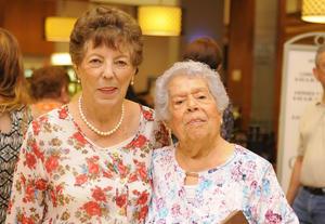 13072016 Socorrito Vázquez e Hilda Valdés de Serrato.