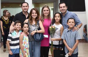 15072016 Ernesto, Dely, Marcela, Paulina, Luis, Antonio, Hernán y Natalia.