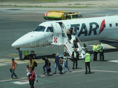 La aerolínea TAR inició con las operaciones de la ruta Ciudad Juárez-Torreón-León.