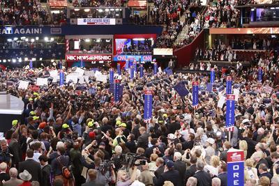 Trump necesitaba 1,237 delegados para asegurar su nominación.