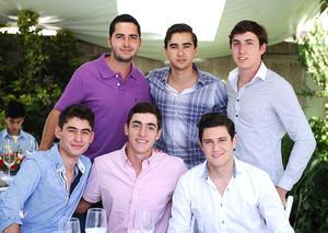 14072016 Fernando, Rodrigo, Jorge, Diego, Alejandro y Fernando.