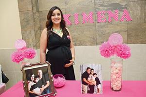 14072016 FELIZ EN SU BABY SHOWER.  Ana Karen Baca Huerta.
