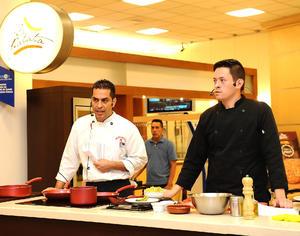 20072016 Los chefs compartieron tips de cocina.