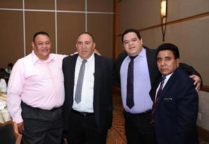 20072016 Carlos Martín, Manuel Landeros, Víctor Baca y Feliciano García.
