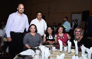 20072016 José, Jordiel, Leticia, María, Martha y Ana.