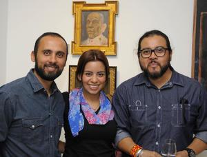 20072016 David, Andrea y Oswaldo.