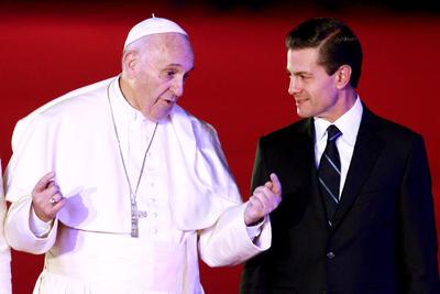 El papa realizó su primera visita apostólica al país mexicano.