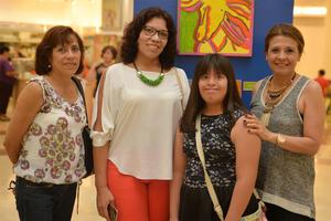 21072016 Beatriz, Mirna, Lupita y Claudia.