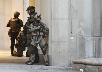 Fuerzas especiales de seguridad se desplazaron de inmediato al área.