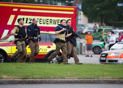 Se trata de un tiroteo en la ciudad alemana de Múnich.