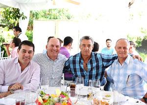 Jorge Fernández, Alberto Tueme, Alejandro Gutiérrez y Alberto Issa.jpg