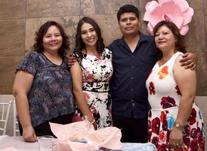 23072016 La feliz pareja acompañados por sus familiares en un día tan especial.