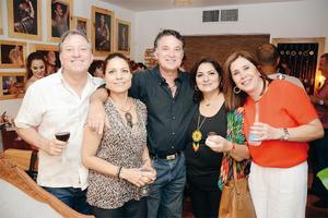 24072016 AMENA VELADA.  Memo, Pily, Gabo, Hita y Adriana.