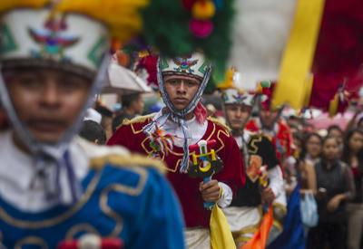 Durante la Guelaguetza participan grupos folclóricos de las ocho regiones de Oaxaca.