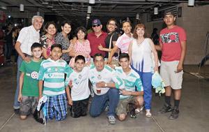 25072016 APOYAN AL SANTOS.  Familias Atilano, Rodríguez Valenciano, Arguijo Rodríguez y Aldano Rodríguez.