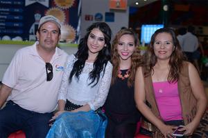 26072016 Natalia, Ale, Ángeles y Brenda.