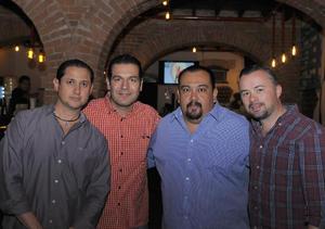 25072016 Ernesto, Luis, Jaime y Roberto.
