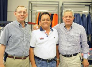 25072016 EN APERTURA.  José, Román Ayala y José Juan.