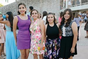 27072016 MUY LINDAS.  Karen, Maritza, Sofía y Natalia.