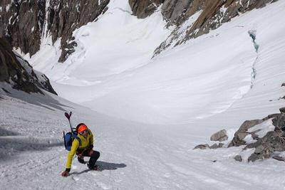 Fotografía facilitada por Press Lymbus, del alpinista español Kilian Jornet, que afrontará el reto de ascender al Everest sin oxígeno ni cuerdas fijas con el objetivo de establecer la marca de velocidad en la cumbre más alta del mundo, el Everest, de 8.848 metros, siguiendo el estilo alpino y una filosofía purista.