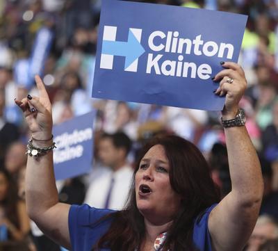 Clinton, en caso de ganar la presidencia, nombrará como vicepresidente a Tim Kaine.
