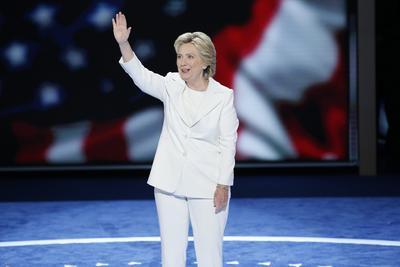 La exsecretaria de Estado aceptó la candidatura demócrata a la Casa Blanca.